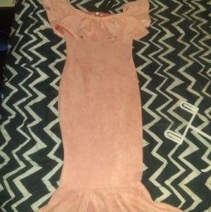 Fashion Nova sweud dress